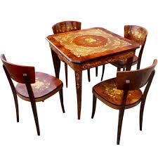 Game Table And Chairs Set Game Table And Chairs Set Chair Design Idea