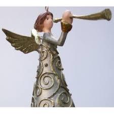 Engel Mit Instrument Deko Hänger Mit Verzierungen Christbaumschmuck Silbergold 14 Cm