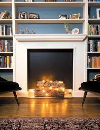 diy fake fireplace insert