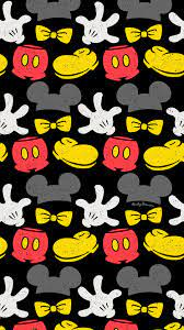Mickey Mouse repeat pattern surface design wallpaper free Disney art  illustration drawing phone iconic icons A… | Repeating patterns, Disney  art, Designer wallpaper