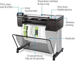 HP DesignJet T830 Large Format Multifunction ... - Amazon.com