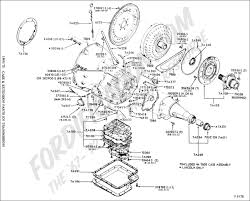 Ford truck technical drawings and schematics section g case extension parts transmission ford working diagram