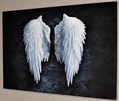 angel wings wall art ebay