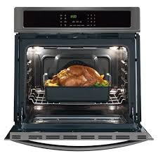 frigidaire gallery trade 30 4 6 cu ft self clean convection single electric wall oven