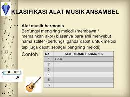 Musik ansambel diaktakan berhasil apabila hasil dari penyajian tersebut. Ansambel Musik By Sabina Arlien Ppt Download