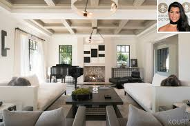 Show Interior Designs House Custom Kourtney Kardashian Home Tour PEOPLE