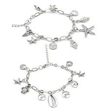 Krun Starfish Turtle Anklet Multilayer Wave Boho Shell ... - Amazon.com