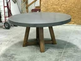 round concrete dining table round concrete dining table c m concrete top outdoor dining table concrete dining table top