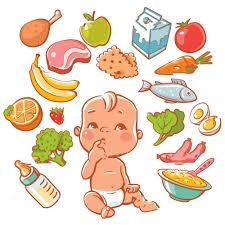 Kết quả hình ảnh cho Chế độ dinh dưỡng đầy đủ cho bé