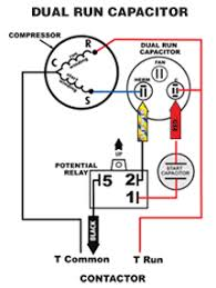 run capacitor wiring diagram capacitor wiring diagram for ac free Pump Motor Capacitor Waring Diagram Picture motor wiring diagram capacitor capacitor capacitor wiring diagram hvac the red wire from the 5 2 1 start kit is normally AC Motor Diagram