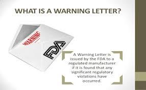 Image result for warning letter