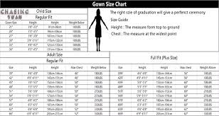 Cap And Gown Measurement Chart Kindergarten Graduation Caps And Gowns For Child View Kindergarten Graduation Gown Chasingyuan Product Details From Ningbo Chasingyuan Import And
