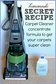 easy homemade carpet cleaning solution for machines secret formula that really works costs 1