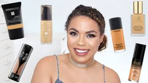 best full coverage foundations for oily skin samantha jane