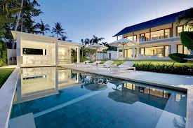 home pool bar. 4 Bedroom Contemporary House For Rent In Canggu Home Pool Bar T