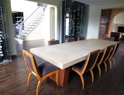 concrete dining table top