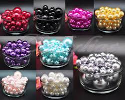 Decorative Vase Filler Balls Vase Filler Pearls Beads Pebbles Wedding Decorative Centerpieces 13