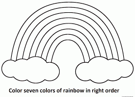 Small Picture Rainbow Coloring Pages Printable Rainbow Coloringgif Coloring