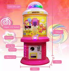 Lollipop Vending Machine Unique Led Light Popular Lollipop Machinelollipop Vendor For Sale Buy