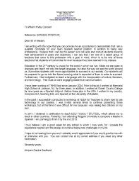Esl Teacher Resume Cover Letter Complete Guide Example With Esl