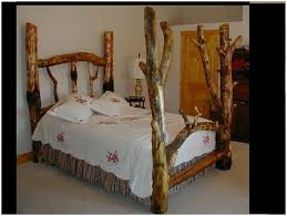 Log Bedroom Furniture Bedroom Untreated Logs Montana Woodworksar Homestead Furniture