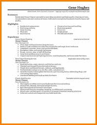 best residential - Cleaner Resume Sample