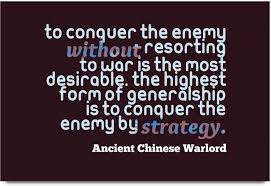 Imerch Conquer The Enemy Without Quotes By Ancient Chinese Warlord