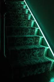 stairway led lighting. Method #1 - Lighting Your Staircase Using A Single Run Of Lights Stairway Led