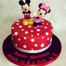 Mickey Minnie Cake Ideas And Mouse Birthday Party Decorations
