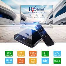 Vontar Mini Smart TV Set Top Box 4K Android 9.0 1GB 8GB - H96 - Black -  JakartaNotebook.com