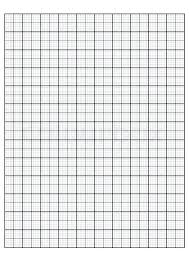 Graph Paper Printable 85 X 11 Full Sheet One Inch Page 1 Cm Grid