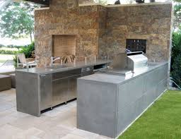 stainless steel outdoor kitchen. Outdoor-stainless-steel-countertops-using-formica-laminate-sheet Stainless Steel Outdoor Kitchen