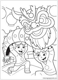 30 Beautiful Chinese Coloring Pages Inspiration