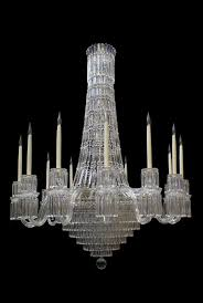 victorian style tent waterfall chandelier