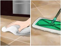 Best Grout Cleaner For Kitchen Floors 4 Ways To Clean Grout Between Floor Tiles Wikihow