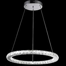 vallkin round ring led crystal pendant light ceiling chandeliers lamp fixtures with d60cm ac100 to 240v pendant lamp parts wood pendant lamp from