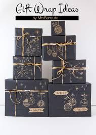 Geschenke Schön Verpacken Mit Kraftpapier Mrsberry