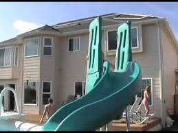 Image Outdoor Summit Usa Above Ground Pool Slide Efestoeventscom Summit Usa Above Ground Pool Slide Youtube