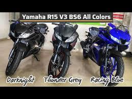yamaha r15 v3 bs6 all colors
