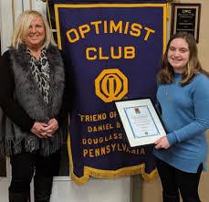 Optimist Essay Contest Local Student Wins Daniel Boone Optimist Club Essay Contest