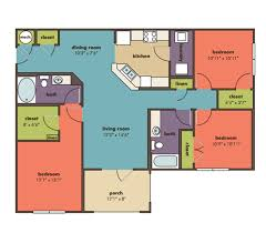 3 Bedroom Floor Plans Custom Ideas