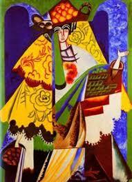 Resultado de imagen de natalia goncharova pintora