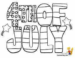 Patriotic 4th of July Coloring Pages | 4th of July | Free ...