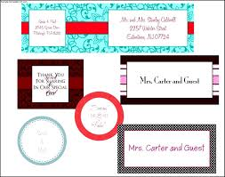 address label template free sample address label