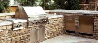 outdoor kitchen bbq uk plans with green egg countertops florida