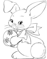 Bunny Face Paint Cute Coloring Pages For Girls Lot To Color Bunny