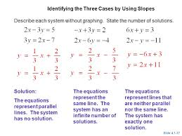 solving systems of linear equations by graphing ppt how to solve linear equations without graphing jennarocca