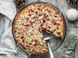 Cranberry Almond Cake Bud Bytes