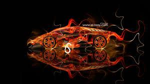 lamborghini egoista fire car