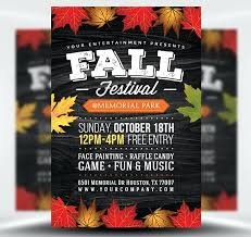 Fall Festival Flyer Free Template Fall Festival Flyer Templates Free Template Voipersracing Co